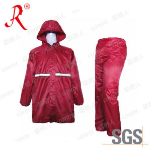 High Quality PVC Raincoat, Rain Suit (QF-770) pictures & photos