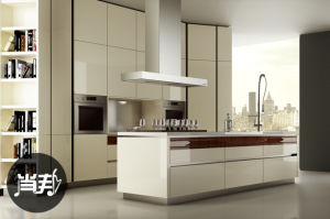 Australia Style Lacquer MDF Kitchen Cabinet (zz-069) pictures & photos