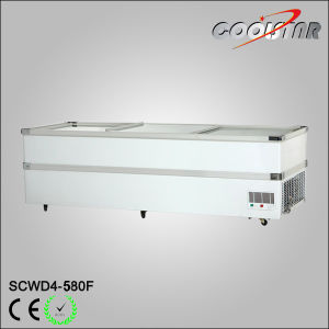 580L Hot Sale Display Island Freezing Showcase for Supermarket pictures & photos