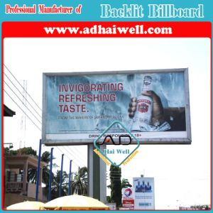 6mx3m Flex Clip Tensioning System LED Backlit Advertising Billboard pictures & photos