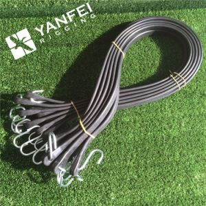 EPDM Rubber Bungee Tarp Strap with Steel Hooks pictures & photos