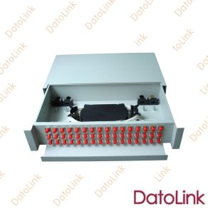 Optical Fiber Slidable Rack Mount Type Patch Panel 48 Cores pictures & photos