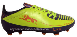 China Men Outdoor Sports Football Boots Soccer Shoes (815-8409) pictures & photos