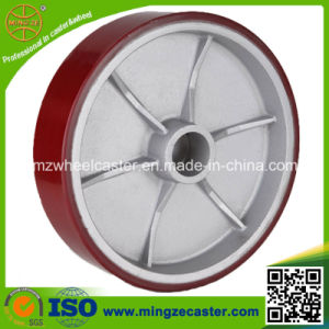 "Heavy Duty 4""/5""/6""/8"" PU Aluminum Wheel pictures & photos"