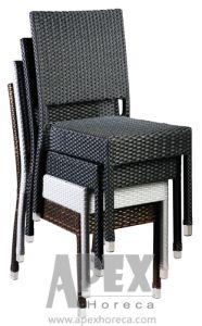 Garden Furniture Bistro Furniture Rattan Furniture Wicker Chair (AS1043AR) pictures & photos