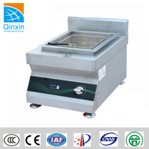 Countertop Induction Potatoes Chip and Fish Deep Fryer pictures & photos