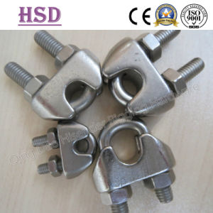 Stainless Steel Wire Rope Clamp DIN741 pictures & photos