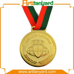 Customized Top Quality Sport Medal by Gold Plating pictures & photos