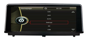 Hualingan GPS Navigation for BMW 1 F20 BMW 2 F22 GPS DVD Player pictures & photos