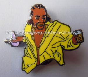 Zinc Die Cast Hard Enamel Lapel Pin (Hz 1001 P053) pictures & photos