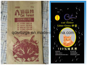 BOPP Film Printing Packaging PP Woven Bag for Cat Litter pictures & photos