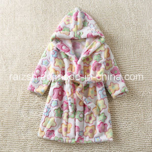 Korean Children Leisurewear Flannel Bathrobe for Export pictures & photos