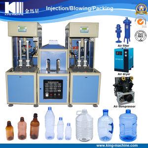 Semi Automatic Pet, Plastic Bottle Blowing Machine pictures & photos