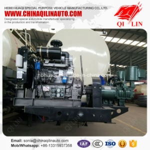 Qilin 2017 New Design Cheap Price Alkali Powder Transport Tanker Trailer pictures & photos