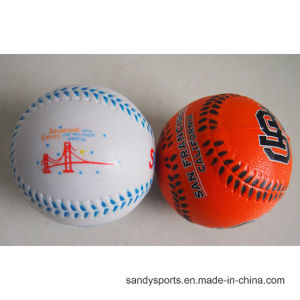 Manufacturer Hot Sale PU Foam Stress Baseball pictures & photos