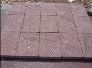 Red Granite Cube for Flooring Paver pictures & photos