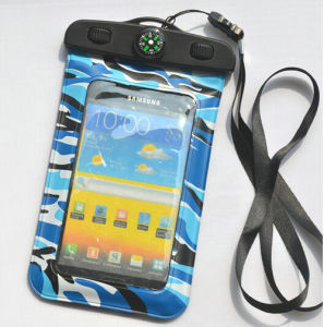 Durable Unique Design New Product Waterproof Bag for Samsung Galaxy S4 with Compass