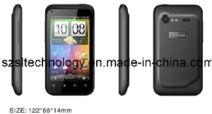 Android 2.3 Mobile Phone GSM WCDMA Mtk6573 LED Flash Camera GPRS Smart Phone G11 (3G)