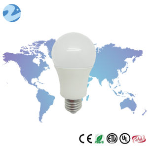 High Efficient Plastic LED E26 8W Bulb Lighting