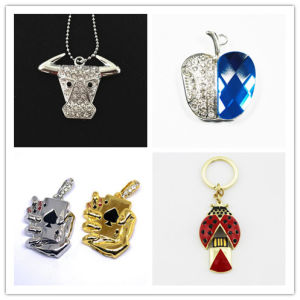 USB Flash Drive Wholesale Crysatl Poker Memory Stick Beetle USB Flash Pen Drive Cow USB Flash Disk for Apple USB Flash Card pictures & photos