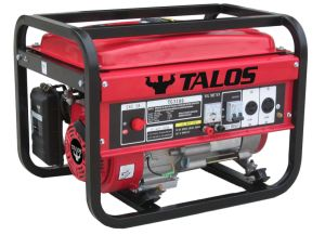 2.8 Kw Portable Gasoline Generator Set (TG3500) pictures & photos