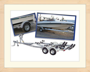 Aluminum Trailer for Boat