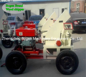 High Capacity Portable Wood Chipper with Factory Direct Sale pictures & photos