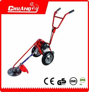 Double Handle Hand Push Type Gasoline Brush Cutter pictures & photos