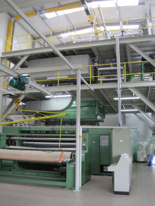 PP Spunbonded Non-Woven Fabric Production Line pictures & photos