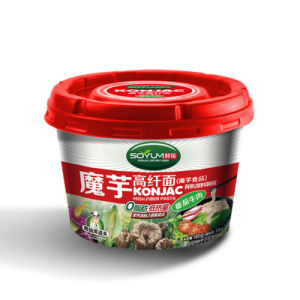 Instant Konjac Cup Noodles with Different Flavors pictures & photos