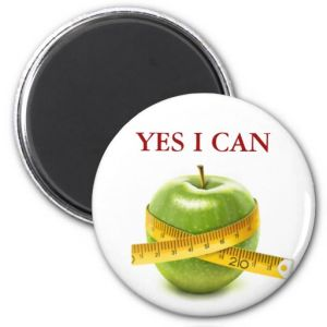 Yes I Can Fridge Magnet pictures & photos