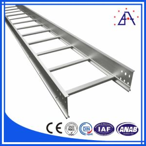 Brilliance Polished 6063 T5 Aluminum Platform Ladder pictures & photos