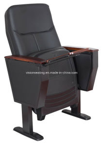 Leather Auditorium Meeting Conference Lecture Theater Hall Chair (1001AP) pictures & photos