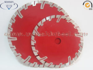 Granite Cutting Diamond Saw Blade with Protective Teeth pictures & photos
