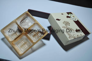 Cheap Price OEM Design High-End 4PCS Mooncake Packaging Box pictures & photos