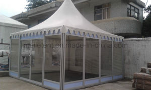 High Class Wedding Party Pagoda with ABS Wall or Glass Wall for Cheap Sale pictures & photos