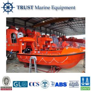 Marine Fiberglass Open Type Rescue Lifeboat pictures & photos