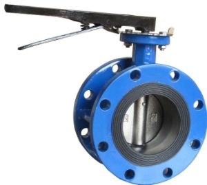 ANSI Wcb Manual Flanged Butterfly Valve (D41X-150LB) pictures & photos