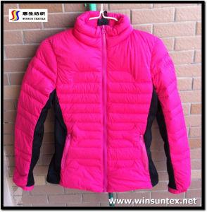 Knitting Downproof Jacket Fabcir (HKTJ072-3DRMC)