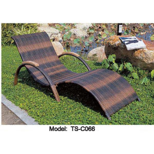 Rattan Leisure Patio Outdoor Dining Modern Lying Bed for Garden