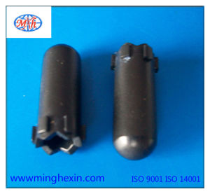 Black Plastic Injection Plug with ISO SGS