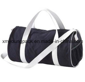 Large Navy Blue Barrel Canvas Duffel Bag pictures & photos