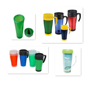 Double Wall Plastic Travel Mug, Auto Mug Without BPA Dn-118 pictures & photos