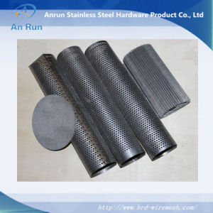 Stainless Steel Perforated Metal Tube Factory with ISO pictures & photos