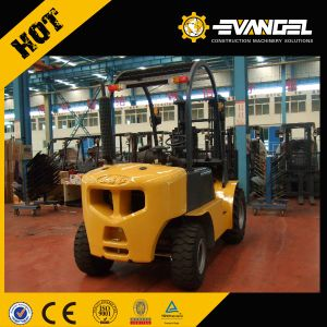 Ultralow Temperature 4-Wheel Battery Operated Electric Forklift pictures & photos