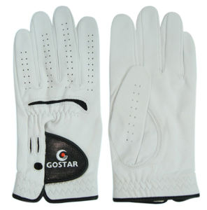 Men′s Cabretta Golf Glove (CGL-40) pictures & photos