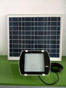 40W Solar Panelwaterproof Rainproof LED Solar Spotlight with IP65