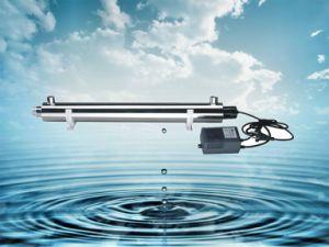 Ultaviolet Water Sterilizer UV RO System Kk-UV-25W pictures & photos