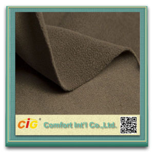 High Quality DTY 100 Polyester Polar Fleece Fabrics pictures & photos
