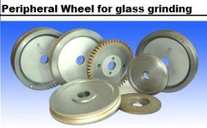 Diamond Peripheral Grinder for Glass Grinding pictures & photos